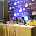 From left: Dr. Sepali Kottegoda, Ms. Christ Raeder, Dr. Corazon Claudio, Prof. Dr. Khin NiNi Thein and Dr. Jean D'Cunha
